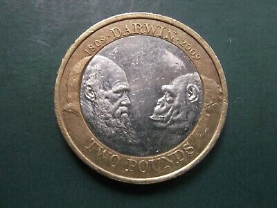Cheapest 2009 £2 Coins Two Pound Rare  Darwin