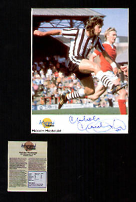 Malcolm MacDonald, signed Autographed Editions display UACCRD retirement sale