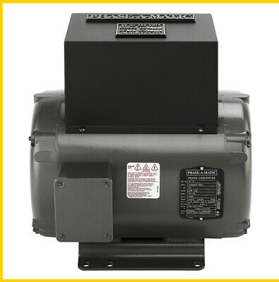 R-10  10 Hp - 220 Vac - Phase-A-Matic Rotary Phase Converter