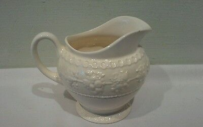 A Beautiful Wedgwood Wellesley Embossed Creamer