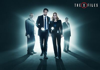 The X-Files A4 260gsm Poster Print