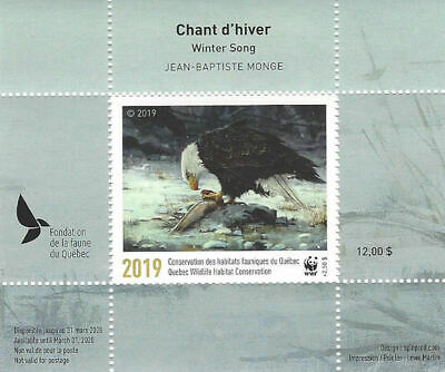 2019 Canada Quebec  Wildlife Habitat Conservation  WWF -DQ93    Mint NH