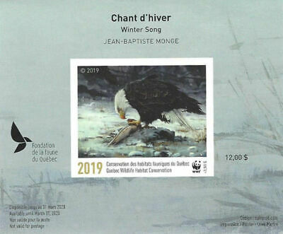 2019 Canada Quebec  Wildlife Habitat Conservation  WWF -DQ93a imperf   Mint NH