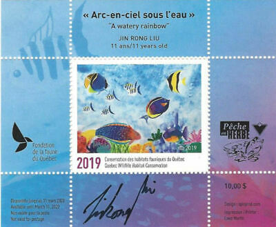 "2019 Canada Quebec  Wildlife ""JUNIOR EDITION"" -DQ95s  Junior MNH"