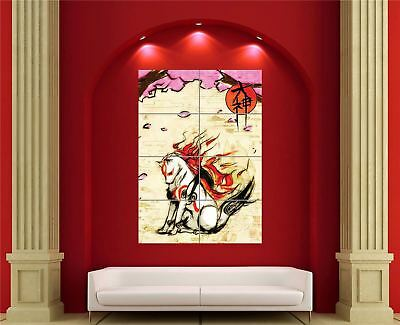 OKAMI PS3 GAME  ACTION VIDEO GAME  ART PRINT POSTER  # 29 A3//A4 Size