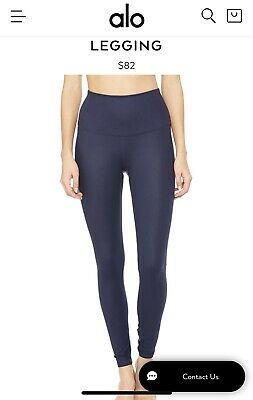 0d39811fa92b0b Alo Small Runway Floral Pastel Airbrush Blue Leggings Size XS Small Yoga  Gym S. $35.00 Buy It Now 3d 10h. See Details. Alo Yoga Small Pants- Navy  Gloss- ...