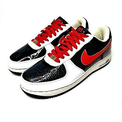 separation shoes e79e2 78766 Nike Air Force XXV AF-1 Low White Blue Red Sneakers 315087-146 Mens