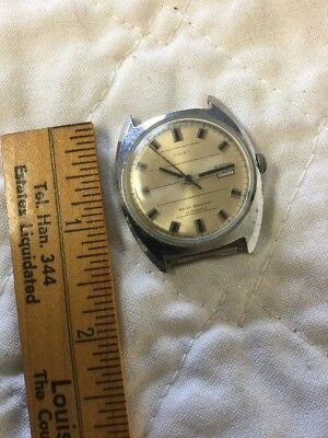 Excellent Vintage Men's Timex Automatic Watch 46650-3273 - Works Briefly