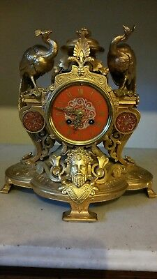 Antique Classical Mantel Clock Japy Freres Exposition Grande Med D Honneur  1855