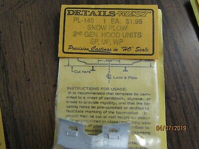 HO SCALE, DETAILS West, As-222 Antenna Stand, Style 1 Bx
