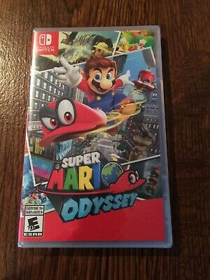 Super Mario Odyssey (Nintendo Switch, 2017) NEW SEALED LUIGI PEACH BOWSER FAST !