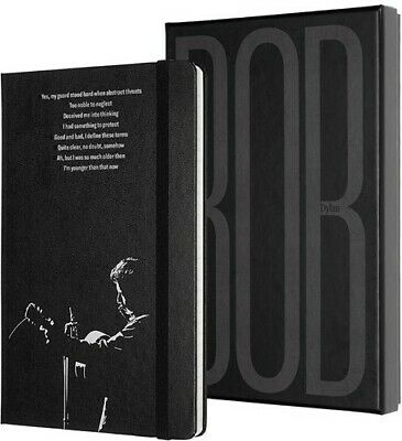 Moleskine Limited Edition Notebook Bob Dylan Collector's Edition, Large, Ruled,