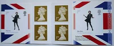 2009 Walsall  6 x 1st Self Adhesive NVI - Booklet SG Catalogue No PM20