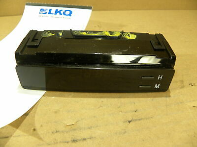 Toyota OEM Central Dash Panel Digital Clock Assembly fits Corolla 2003-2008