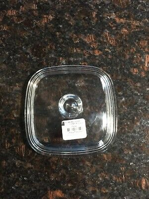 NEW Petite Pan Glass 1 Lid Corning Ware fits P-41-B &  P-43-B