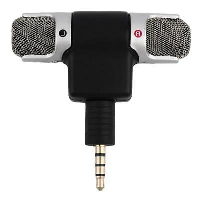 Portable Mini Mic Digital Stereo Microphone for Recorder PC Mobile Phone