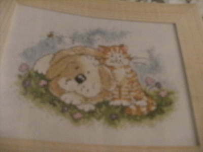 'Friends for life' cross stitch chart (only)