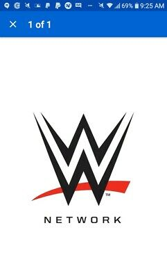 WWE Network - 1 Year With Warranty - Premium AccountFAST 20min DELIVERY