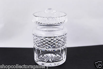 Waterford Crystal Castlemaine Jam/Jelly Jar With Lid - Mint