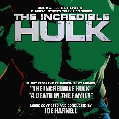 The Incredible Hulk: Pilot Film & Death In The Family-Music by Joe Harnell