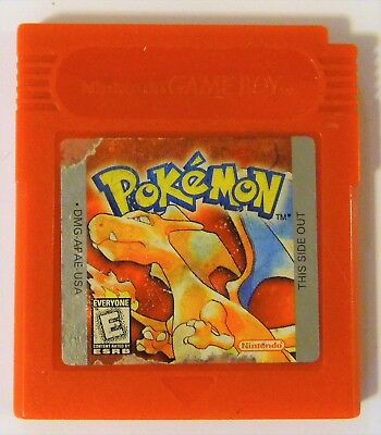 Pokemon Red Version (Nintendo Game Boy, 1998) - Tested/Works - New Save Battery