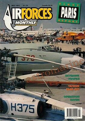 AIRFORCES MONTHLY July 1991 - A-4 SKYHAWK PROFILE