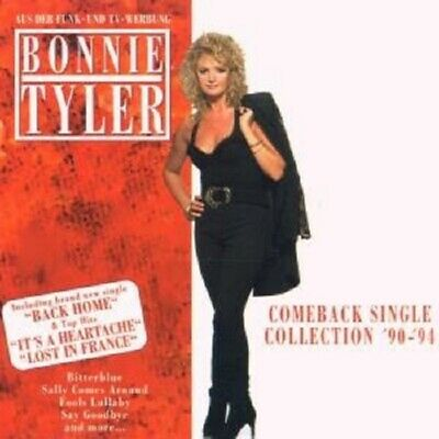 """Bonnie Tyler """"Comeback Single -Collection"""" Cd New"""