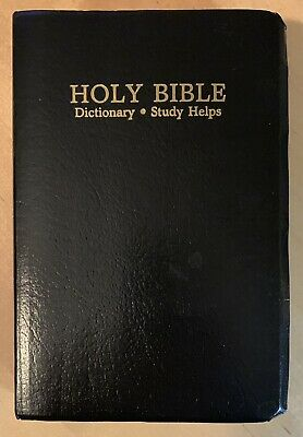 Holy Bible, King James Version, Red Letter, Maps, 1989 World Pub., KJV