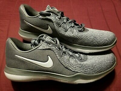 5154ce0f2ca4 NEW..Nike Flex Supreme TR 6 Cross Training Womens Shoes Gunsmoke Grey Size  9.5