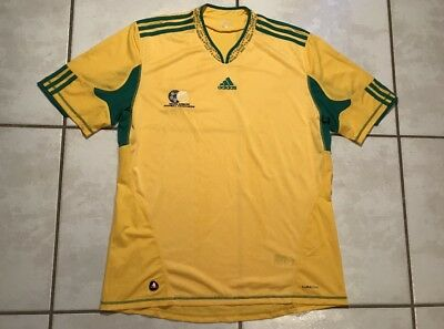 d7516cc8c10 ADIDAS SOUTH AFRICA 2010 Mexico Vintage Soccer Jersey NWT Men s ...