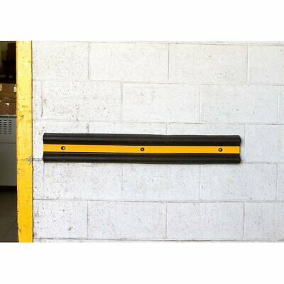 1000mm Loading Dock Bumpers Rubber B-section Wall Protector Docking Guard