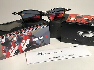 ef392d1909bca Oakley X Metal Sunglass Juliet Model Ducati Edition Carbon Black Frame Ruby