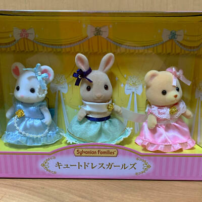 SYLVANIAN FAMILIES DRESS /& BERET GIRLS limited FAN CLUB online CALICO CRITTERS