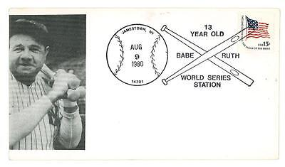 ENVELOPE - FDC - cover BABE RUTH - U.S.A. 1980