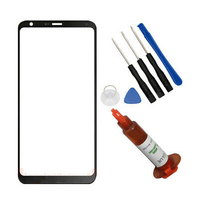 OUTER FRONT SCREEN Glass Lens Replacement For LG Stylo 1 2 3