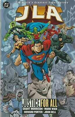 JLA, Justice For All - The Justice League, 1999 Graphic Novel
