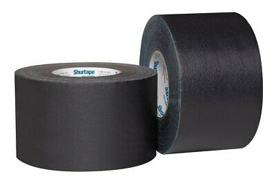 BLACK Gaffers Tape - SHURTAPE P628 72mm x 50M (3in x 55yd) FULL Case of 16 rolls