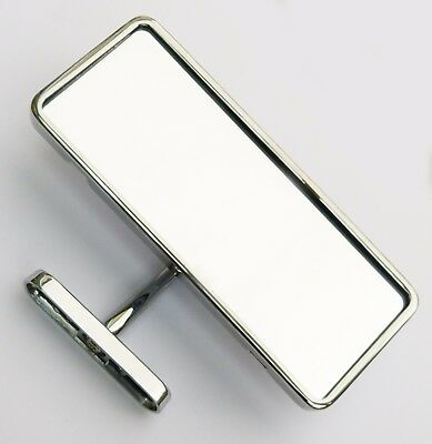Interior Mirror with Chrome Plated Back & Rim, AHH5198C, For MGA & Classic Cars