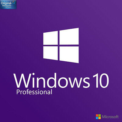 INSTANT Microsoft Windows 10 Professional Pro 32/64 bit License Key Product Code