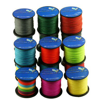 9 Color 500M Multifilament Spectra Braided 8 Strands Sea Testing Fishing Line