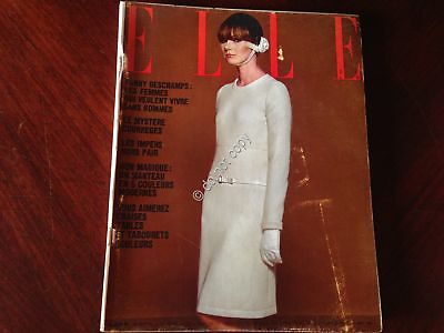 ELLE FRANCE Rivista Magazine 17 Marzo 1966 n.1056 Julie Christie