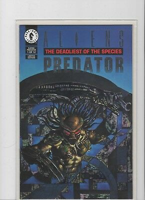 Aliens Predator: The Deadliest Of The Species #1 Platinum LIMITED EDITION