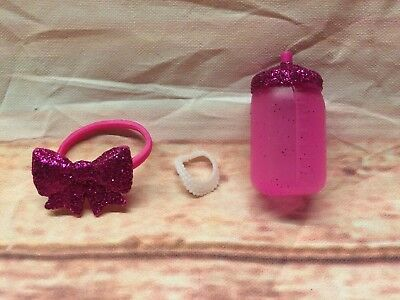 RETIRED LOL Surprise Sister Doll Glamour Queen Bottle Bow Necklace Replacement