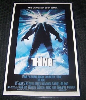 John Carpenter's The Thing 11X17 Movie Poster