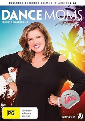 Dance Moms: Season 5 Collection 2 DVD 3 dscs New & Sealed Abbey Lee Miller