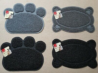 Pet Feeding Mat Non-slip Dish Bowl Dog Puppy Cat Kitten Feeding Food Easy clean