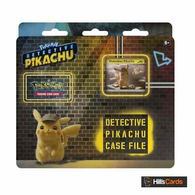 Pokemon Detective Pikachu Case File - Trading Card Game Booster Packs + Promo