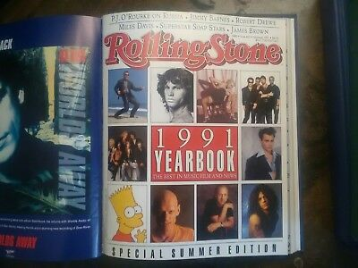 Rolling Stone Australia Archives 1990 1994 All Publications  - bound In Annuals