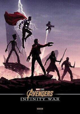 Avengers Infinity War Poster Odeon Story Infinity Stones Wallpaper Canvas-like