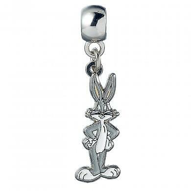 New Official Genuine Looney Tunes Silver Plated Bugs Bunny Slider Charm